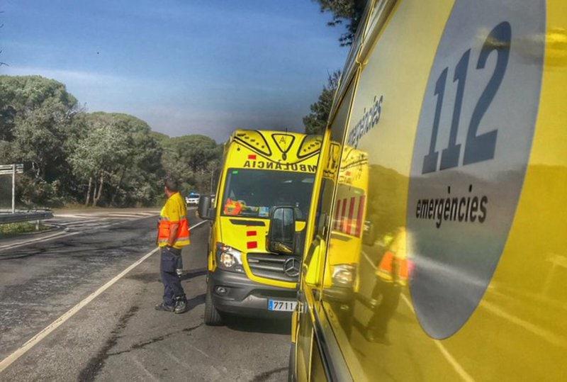 Ferit crític un ciclista després de patir una caiguda a Montferrer i Castellbò