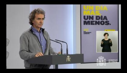 Simón vincula l'increment dels nous casos amb el reforç de la capacitat de diagnòstic