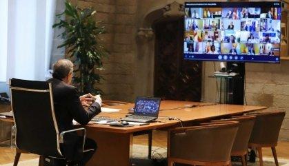 Torra recorda a Sánchez el 'no' del Govern a l'estat d'alarma, tot i ERC