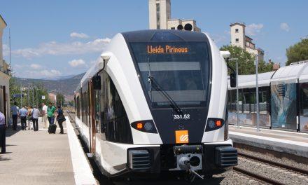 Torna el servei de la línia Lleida-La Pobla a partir de demà dilluns
