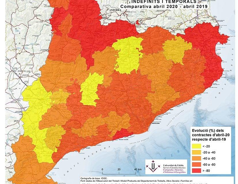 Forta reducció de la contractació laboral al Pallars i l'Alt Urgell, segons un estudi de la Universitat de Lleida