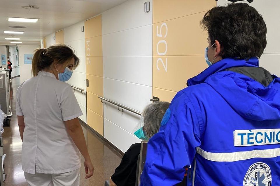 Donen d'alta l'última pacient de coronavirus de l'Hospital de Meritxell
