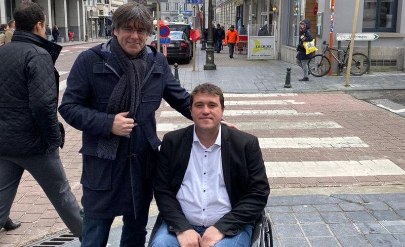 """Jordi Fàbrega s'alinea amb """"el pensament únic"""" de Puigdemont en l'ordenació de JuntsxCat"""