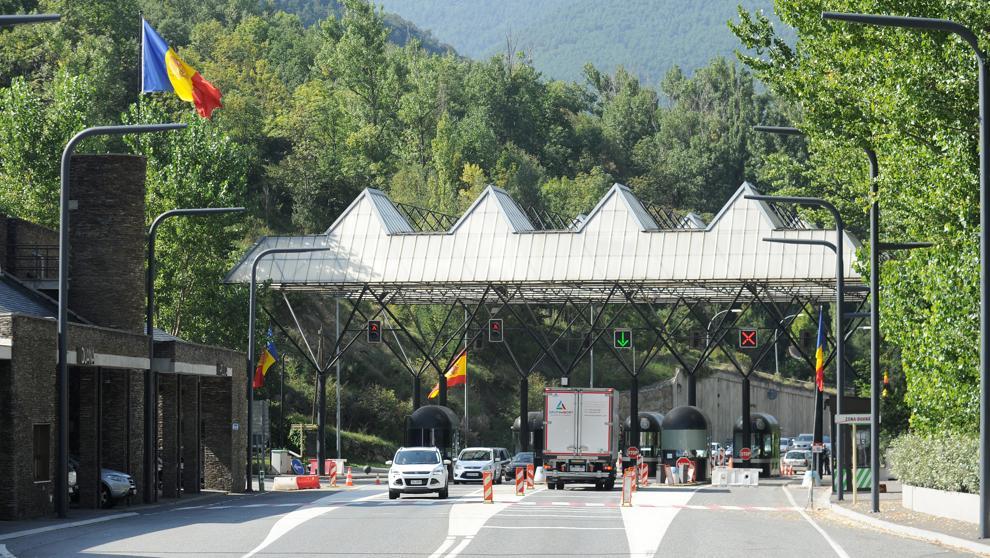Acord entre Espanya i Andorra per reobrir la frontera a partir de demà divendres