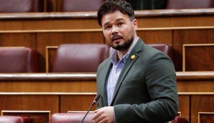 Rufián carrega contra Buch pels presumptes insults i agressions racistes de mossos contra un jove