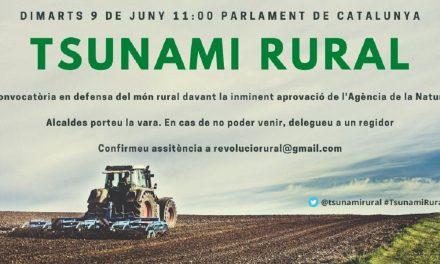 Convoquen una concentració davant el Parlament de Catalunya contra l'Agència de la Natura de Damià Calvet