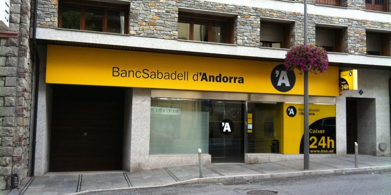 BancSabadell es planteja vendre la seva filial al Principat d'Andorra