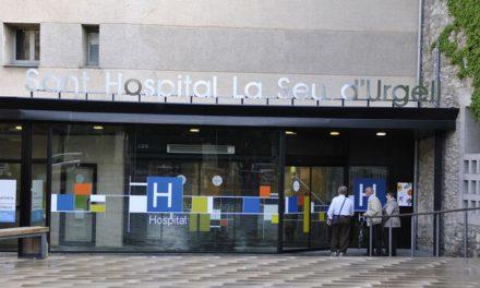 Ingressa per coronavirus un home de 30 anys a l'Hospital de la Seu d'Urgell