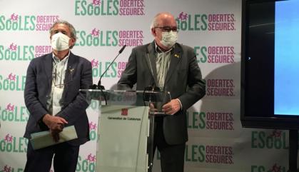 Bargalló descarta les targetes menjador durant l'agost
