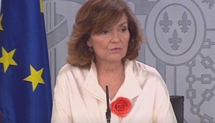 """Carmen Calvo: """"Aquest Govern no espia ningú"""""""