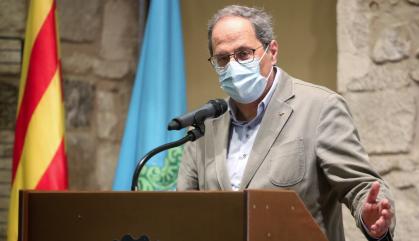 Revés judicial als confinaments domiciliaris de Lleida decidits pel govern Torra