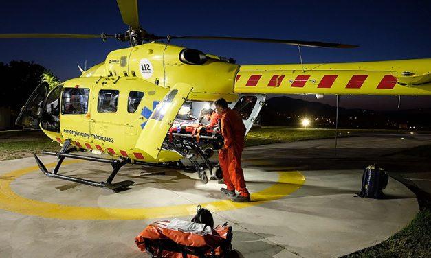 L'helicòpter del SEM nocturn de la Generalitat tindrà base a la Seu d'Urgell i Tremp