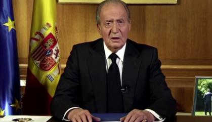 El rei emèrit se'n va d'Espanya