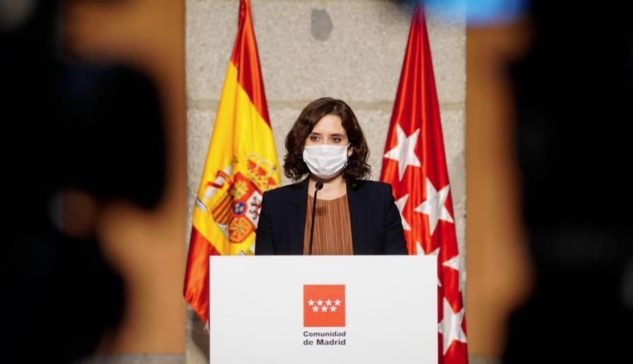 Díaz Ayuso recomana als madrilenys que viatgin a Catalunya