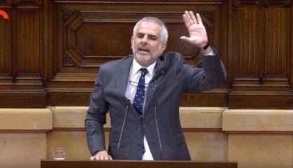 """Carlos Carrizosa: """"Senyor Torra, adéu"""""""