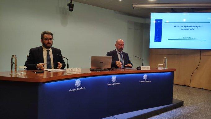 Covid Andorra: 85 positius nous, 11 hospitalitzats i dos a l'UCI