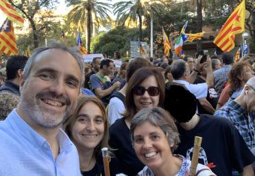"""Jordi Fàbrega denuncia que el govern espanyol """"només sap posar banderes"""""""