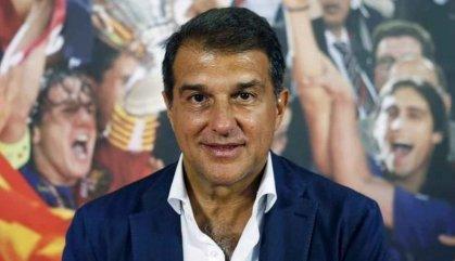 Joan Laporta planta cara a Víctor Font anunciant que es presenta