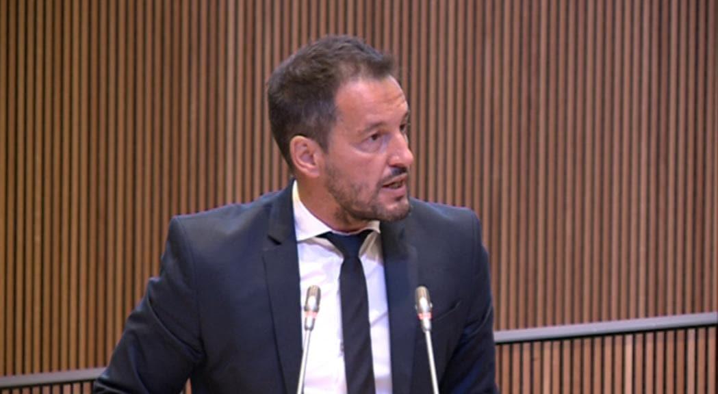 Pere López denuncia la reunió 'secreta' entre Xavier Espot i el número dos del Vaticà