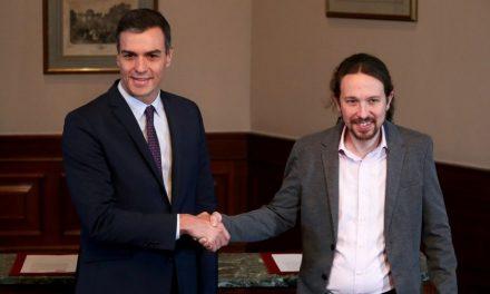 Iglesias destapa que es va barallar amb Sánchez per Joan Carles I