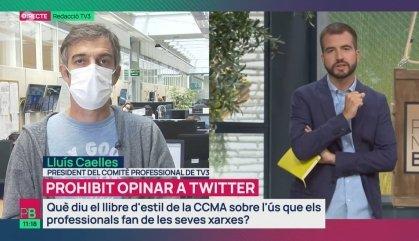 Crisi a TV3 i Catalunya Ràdio pels periodistes que no respecten el Llibre d'Estil de la CCMA