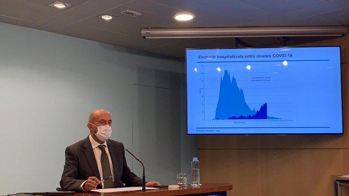 Covid: 195 nous positius i sis malalts intubats a l'UCI de l'Hospital de Meritxell