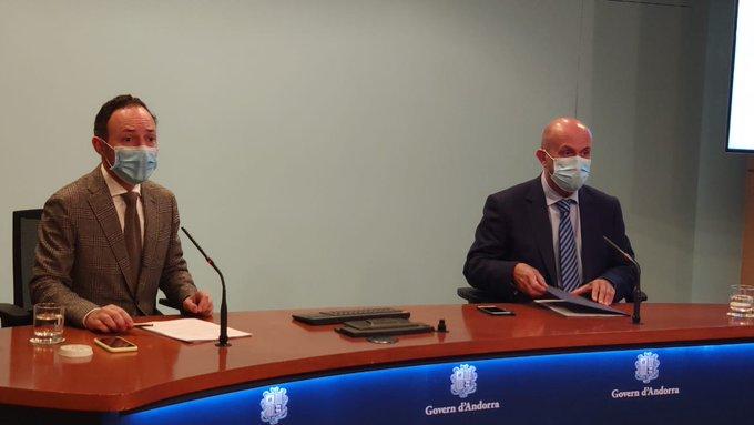 El govern andorrà implanta el teletreball per l'augment de casos positius de covid