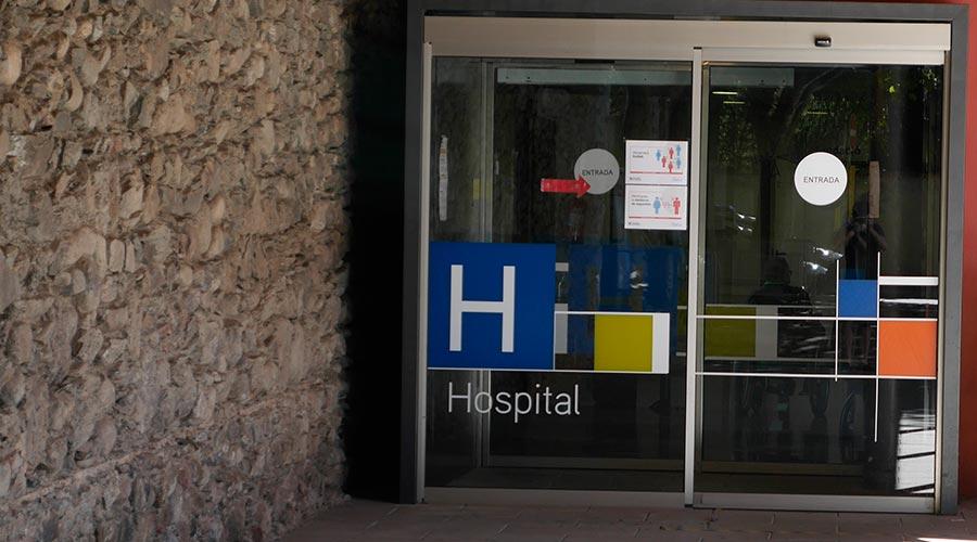 L'Hospital de la Seu d'Urgell es confina pel greu brot de coronavirus