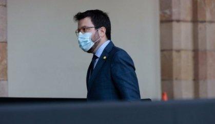 Aragonès aprofita la sessió de control del Parlament a l'executiu per fer campanya electoral