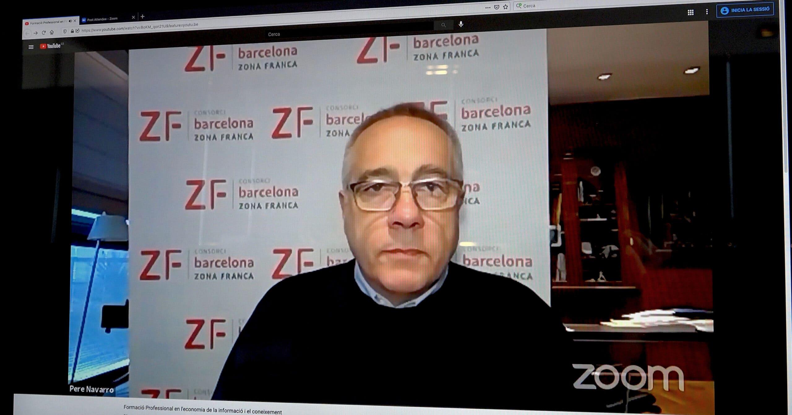 El Consorci de la Zona Franca de Barcelona analitza el paper de la formació professional dins de la nova economia