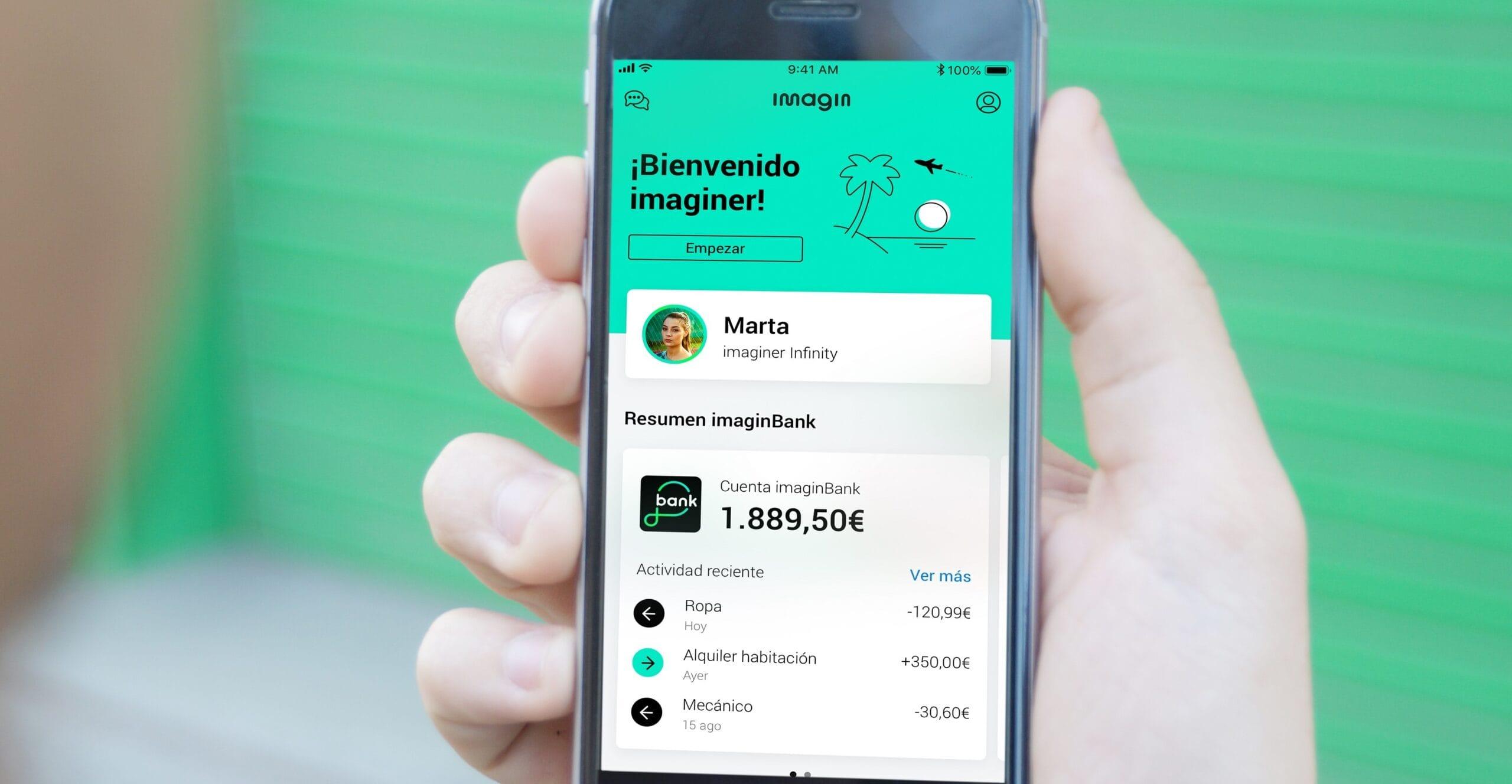 imagin aconsegueix els 3 milions d'usuaris i es consolida com a líder en serveis financers digitals per a joves