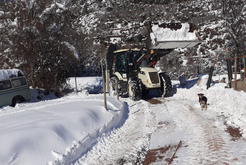 Continuen aïllats la quinzena de veïns de Mencui, al Pallars, pel mal estat de la carretera