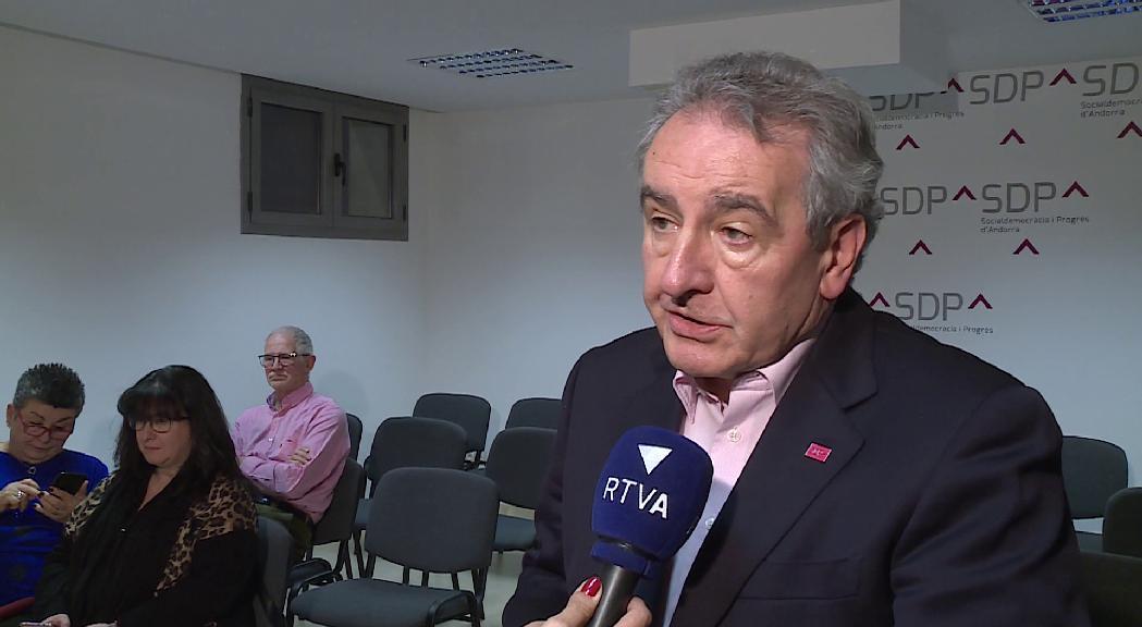 """SDP acusa l'executiu andorrà de """"manca de transparència"""" en la campanya de vacunació"""
