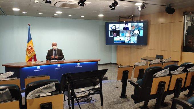 """Les dades de la pandèmia a Andorra """"no fan necessari restringir més les activitats econòmiques i socials"""""""