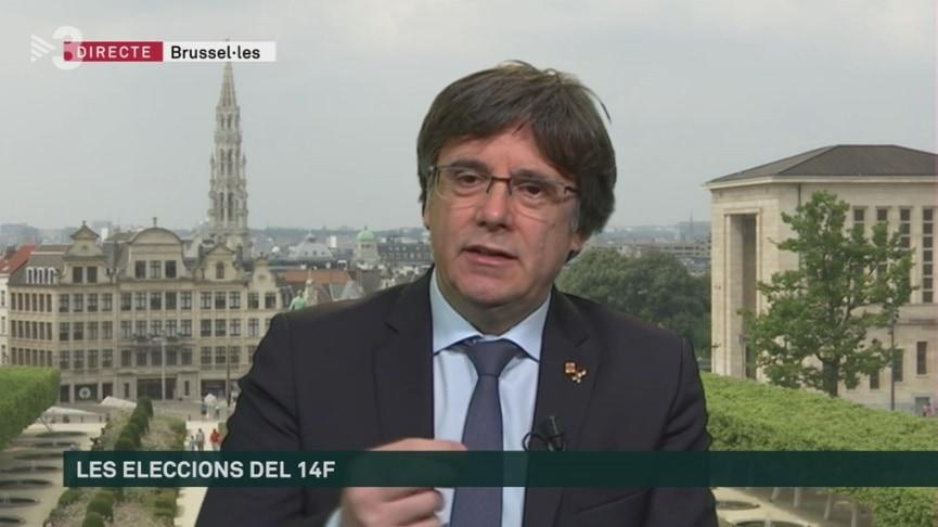 """Puigdemont reclama """"lleialtat"""" i """"corresponsabilitat"""" a ERC per tornar a pactar"""