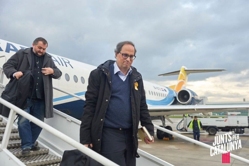 """Plega el candidat de Junts que va tractar Colau de """"puta histèrica"""" i Illa de """"nazi"""", i prometia una """"neteja d'espanyols"""""""