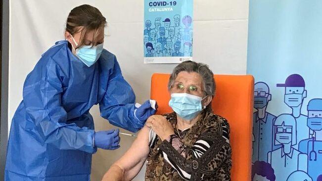 Salut ha vacunat 1.818 persones contra la covid a la regió sanitària de l'Alt Pirineu i Aran