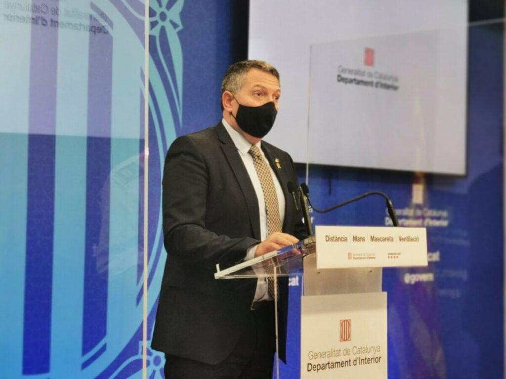 """Sàmper atribueix a la """"pandèmia"""" i al """"cansament generalitzat"""" els episodis de violència d'aquest dimarts"""