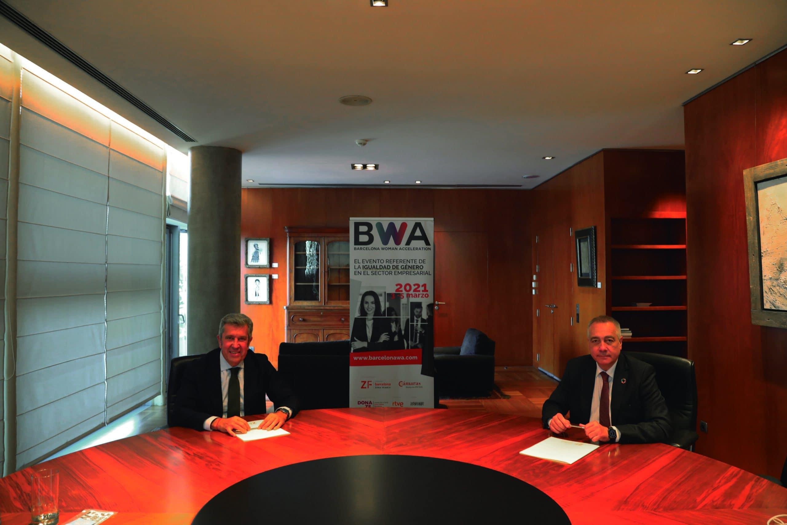 La Zona Franca de Barcelona i la Fundació Incyde s'alien per a crear el Barcelona Woman Acceleration (BWA)
