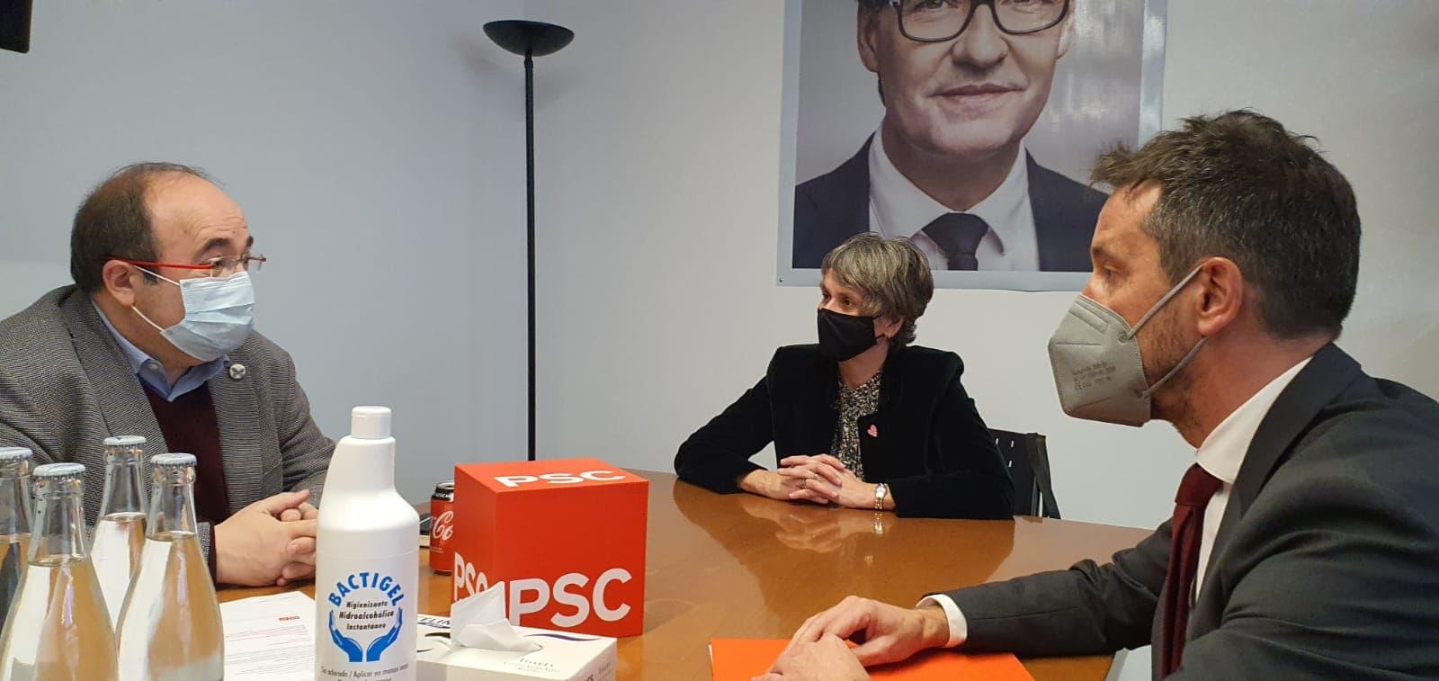 Les mesures per lluitar contra el frau fiscal proposades per Espanya centren la reunió entre el Ps i el ministre Iceta