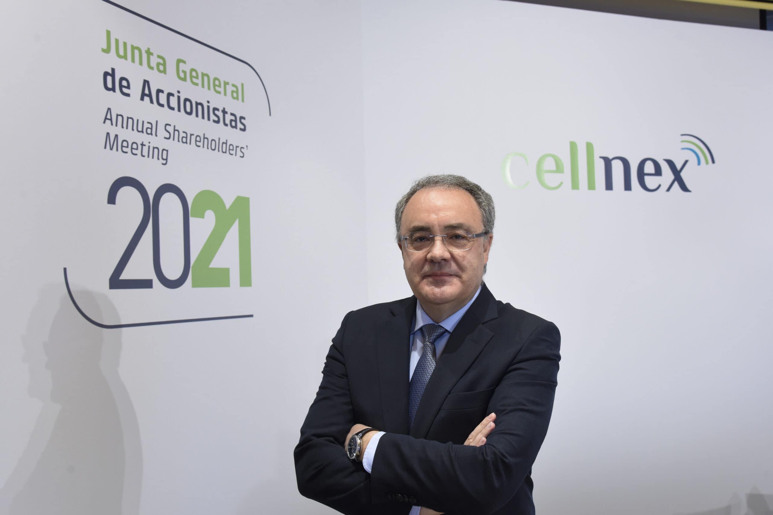 El conseller delegat de Cellnex, Tobías Martínez