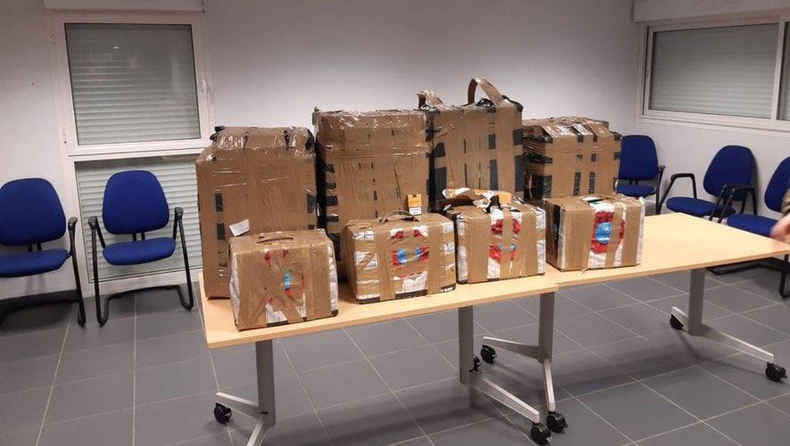 Més de 1.000 cartrons de cigarrets confiscats per la duana d'Ax-les-Thermes en els darrers deu dies